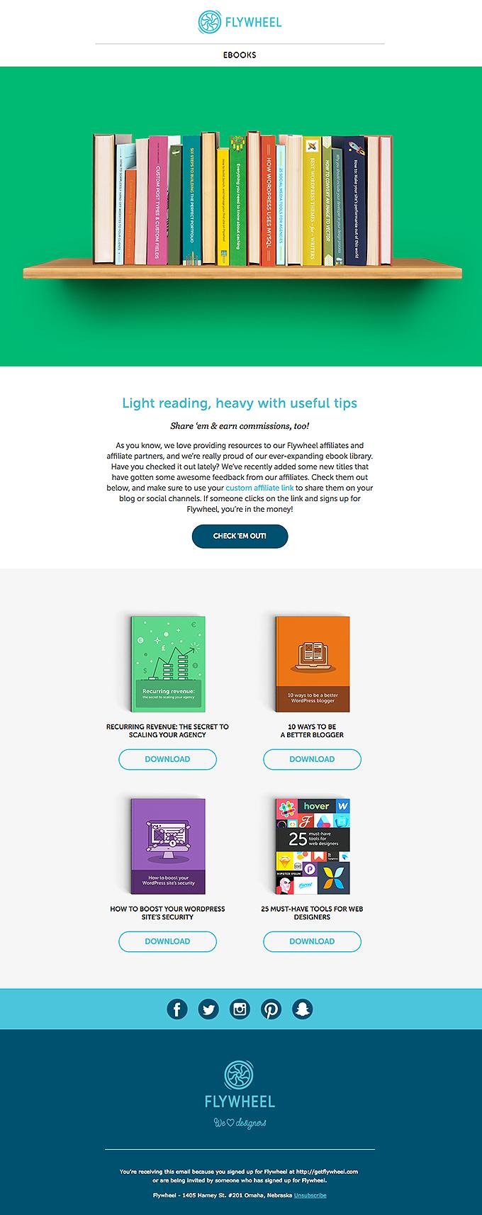 34 FREE ebooks from Flywheel! Read, learn
