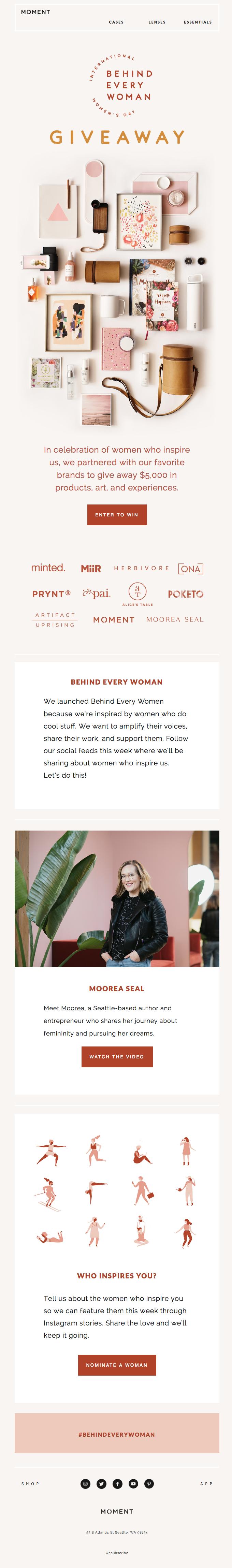 $5k in Prizes to Celebrate International Women's Day