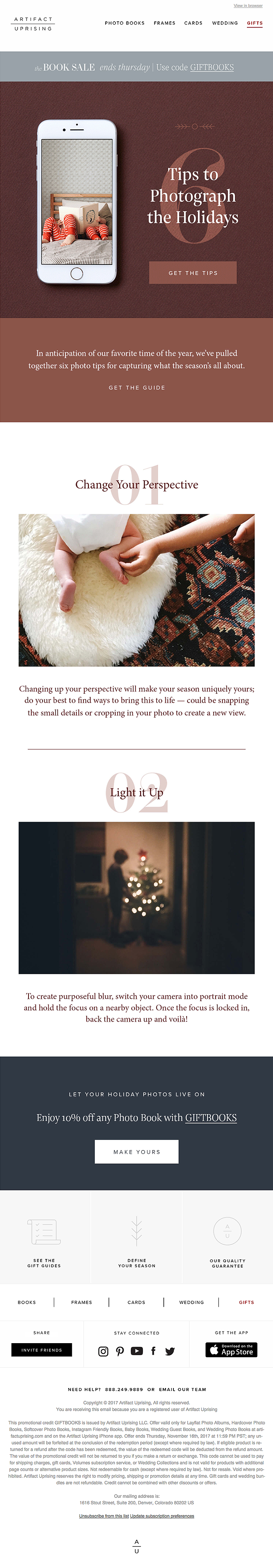 6 Tips to Photograph the Holidays