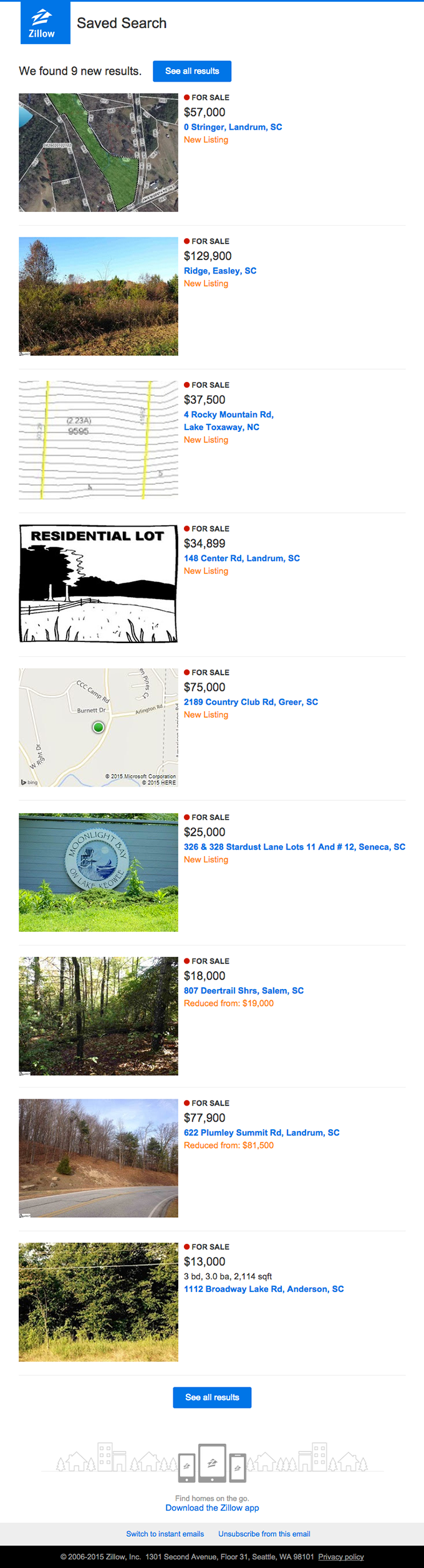 9 Results – Your For Sale, Potential Listings near Easley 29640 Search