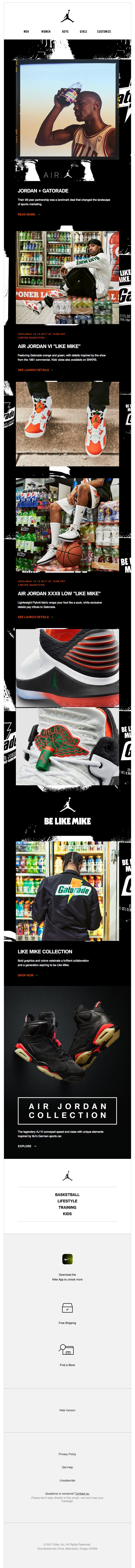 """Air Jordan VI """"Like Mike"""""""
