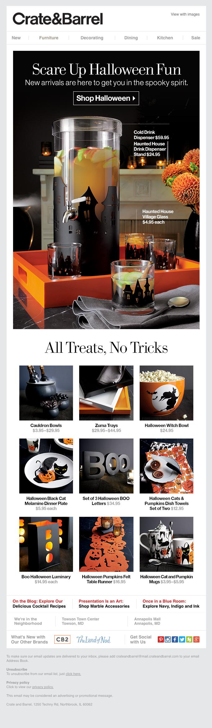 All treats, no tricks.
