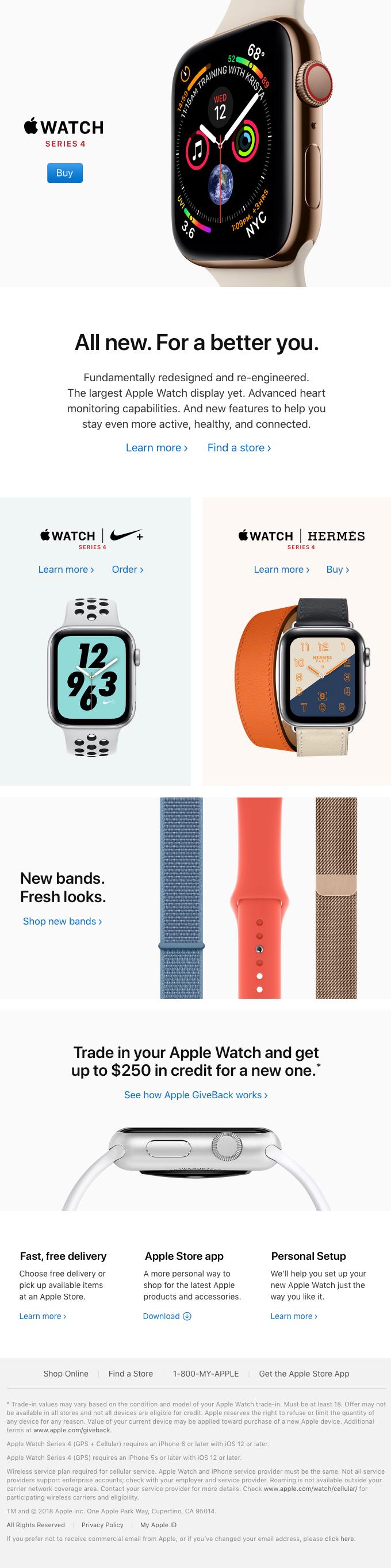 Apple Watch Series 4 is here.