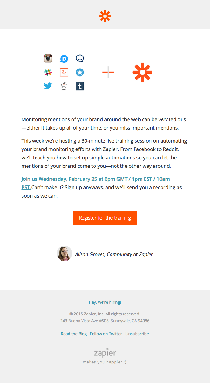 Automate your brand monitoring with Zapier!