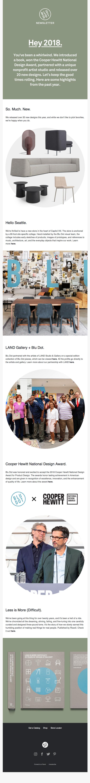 Blu Dot's December Newsletter