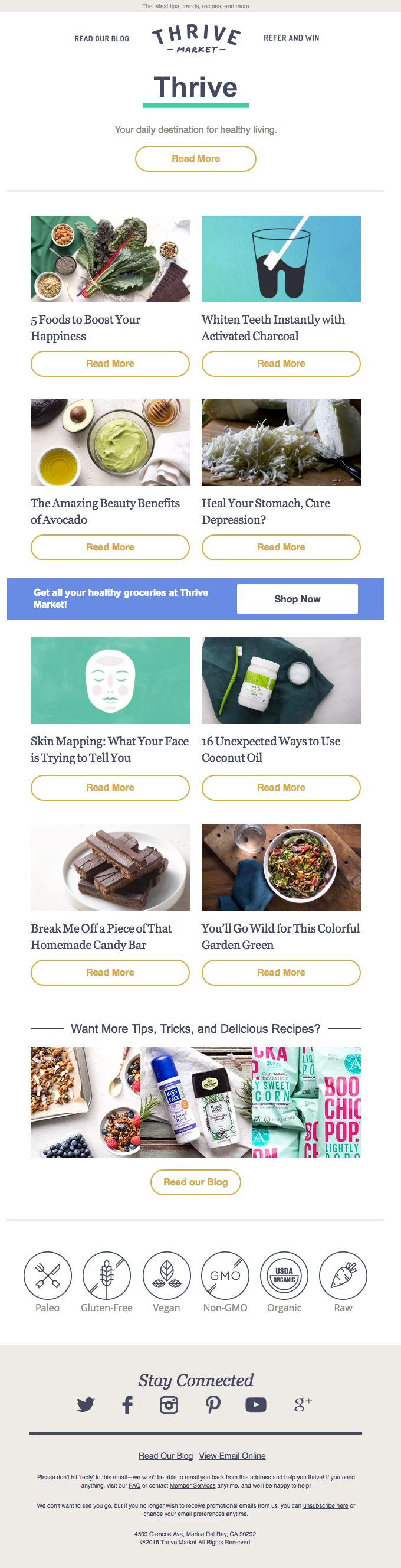 Discover the latest health trends on Thrive Notebook