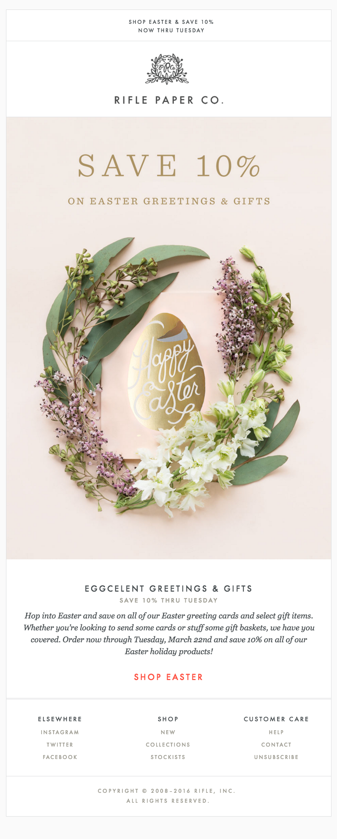 Eggcelent Greetings & Gifts for Easter