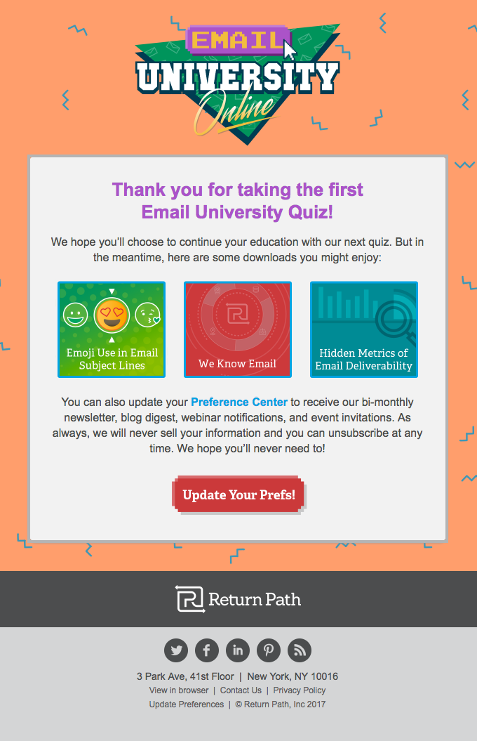 Email University Smiles Davis = Unstoppable Email Knowledge
