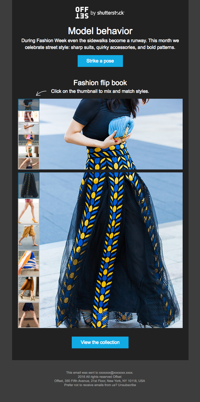 Fashion special: try our street style flip book