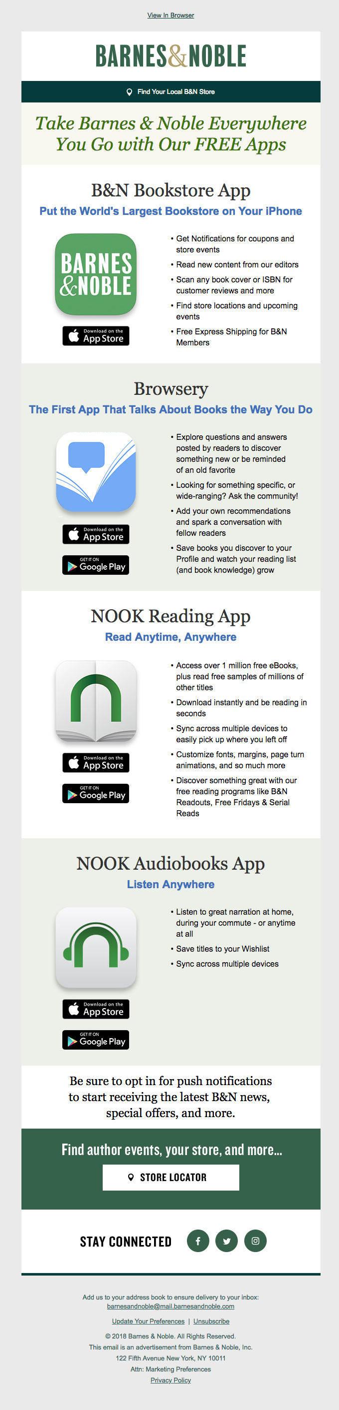 Free Apps for Exclusive B&N Content, Digital Reading & More