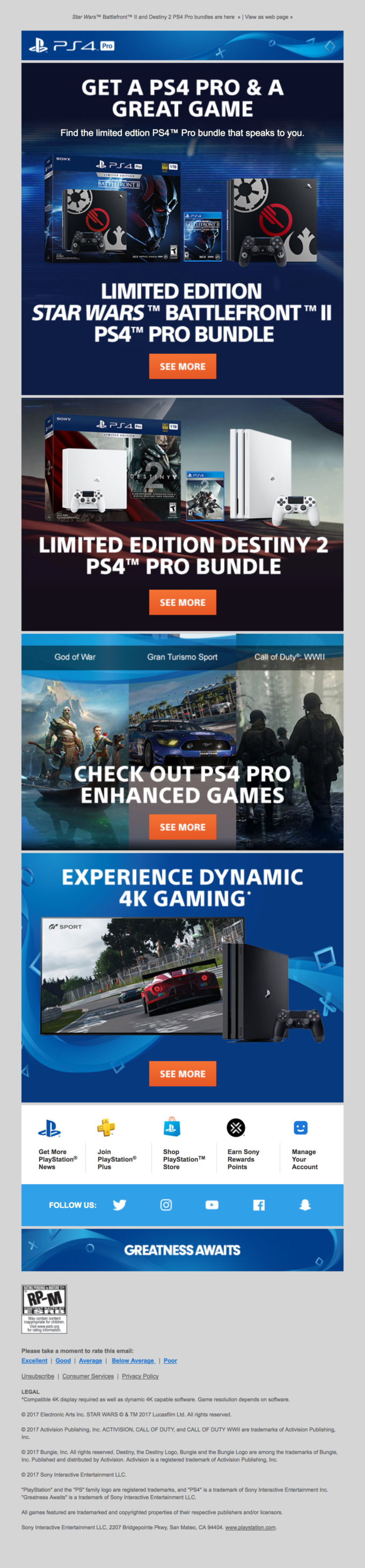 Get a deal on PS4 Pro