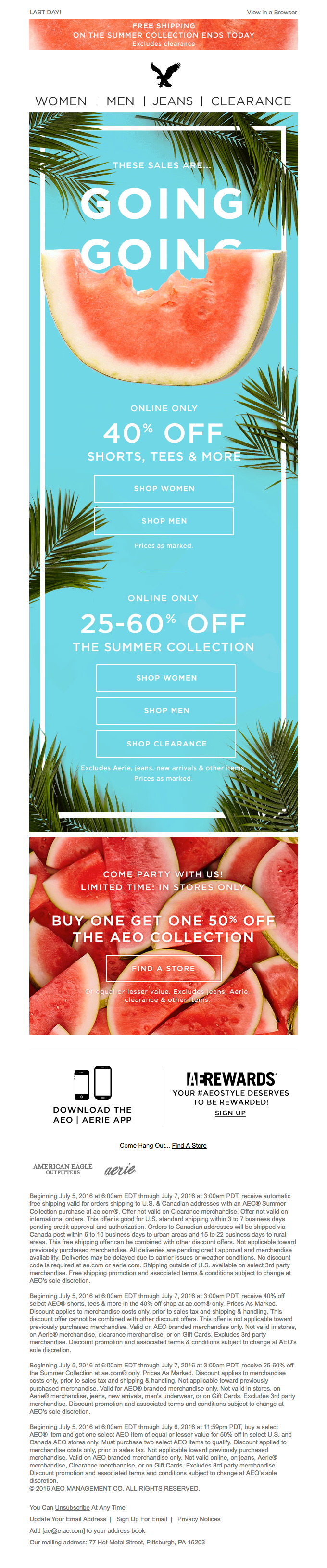 🍉 Hurry! 3 sweet sales are RINDIN' down…
