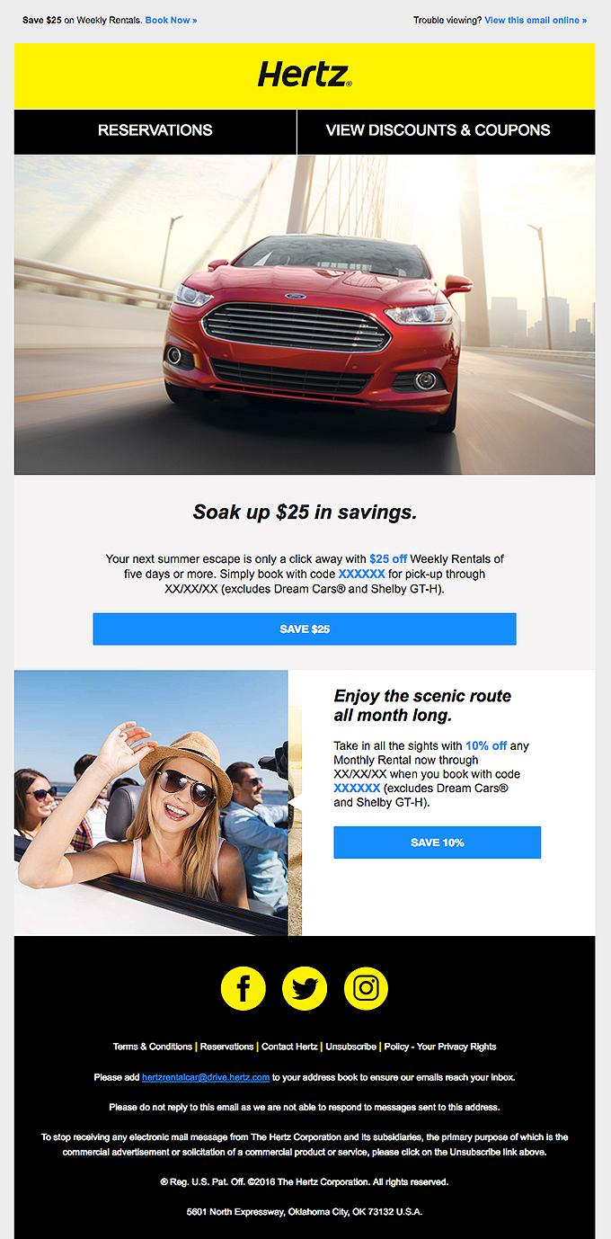 Hurry to save $25 on fun and sun!