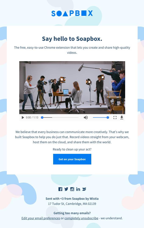 Introducing Soapbox, Wistia's video creation tool