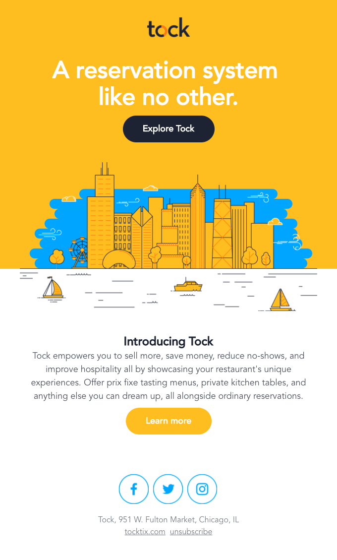 Introducing Tock, a reservation system like no other