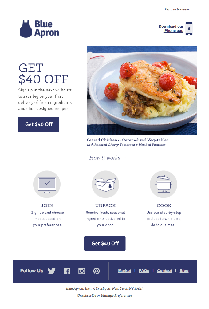 Join now – Get $40 Off