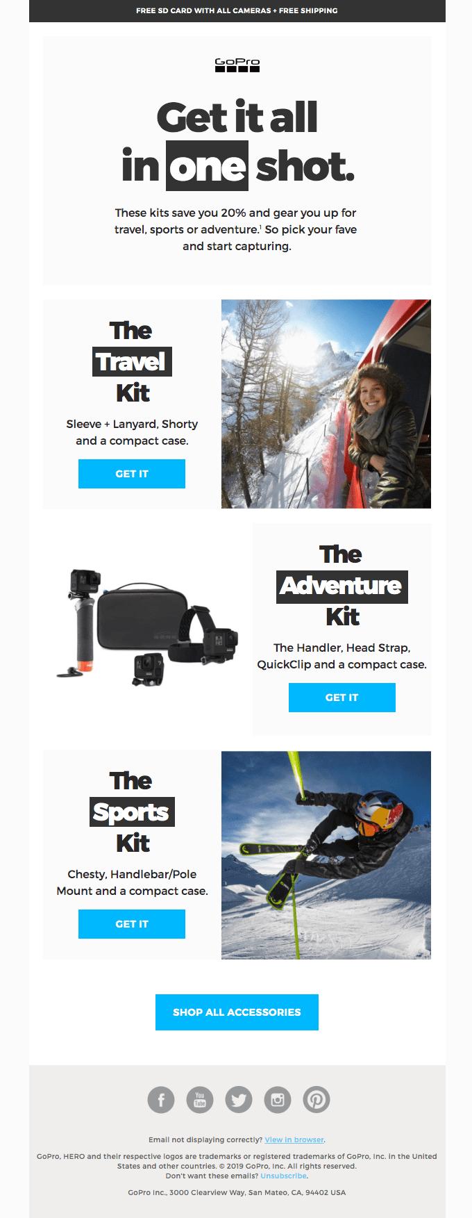 Killer kit. Killer price.