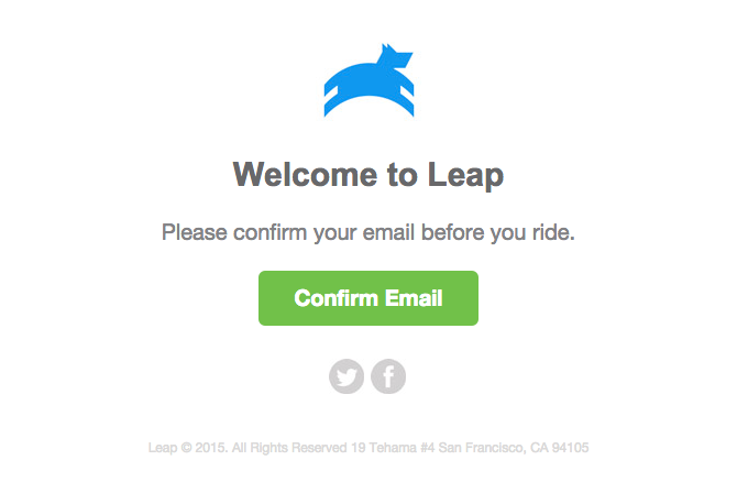 Leap Transit – Welcome