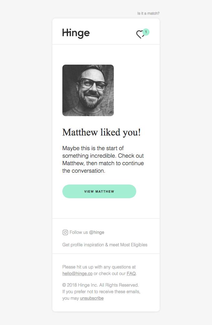 Matthew (Smiles Davis's friend) liked you!