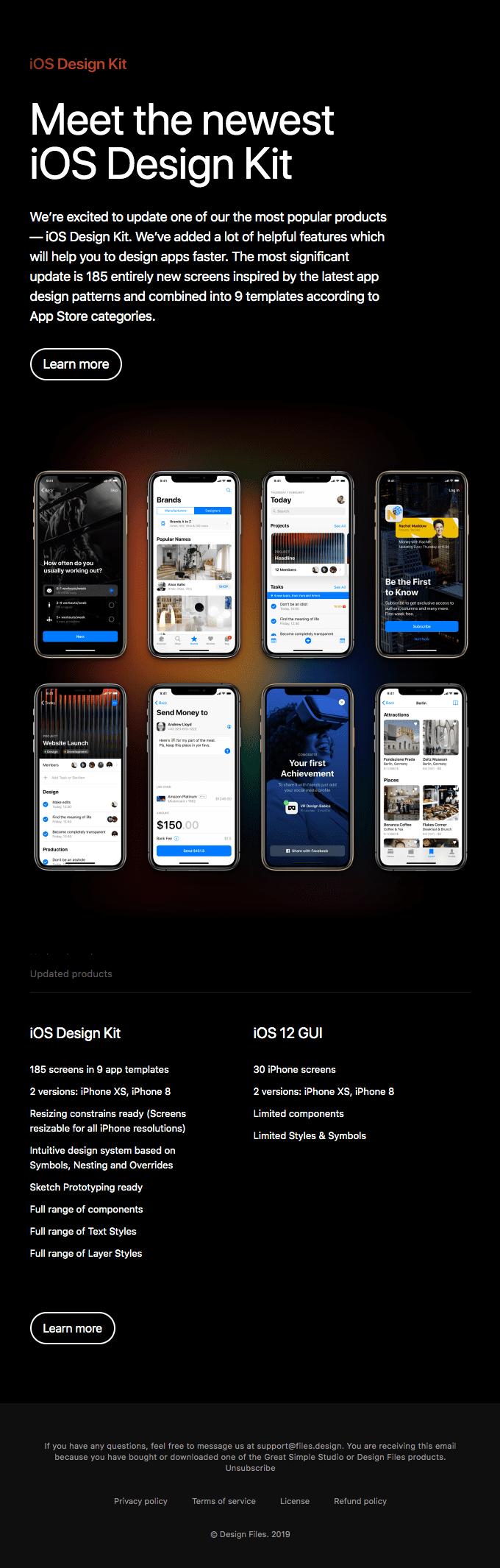 Meet the new iOS Design Kit