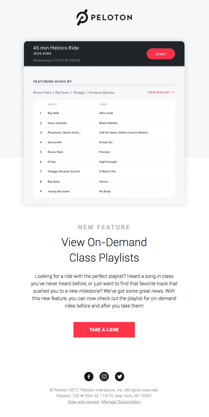 NEW! Preview On-Demand Class Playlists