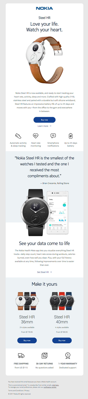 Nokia Steel HR has arrived