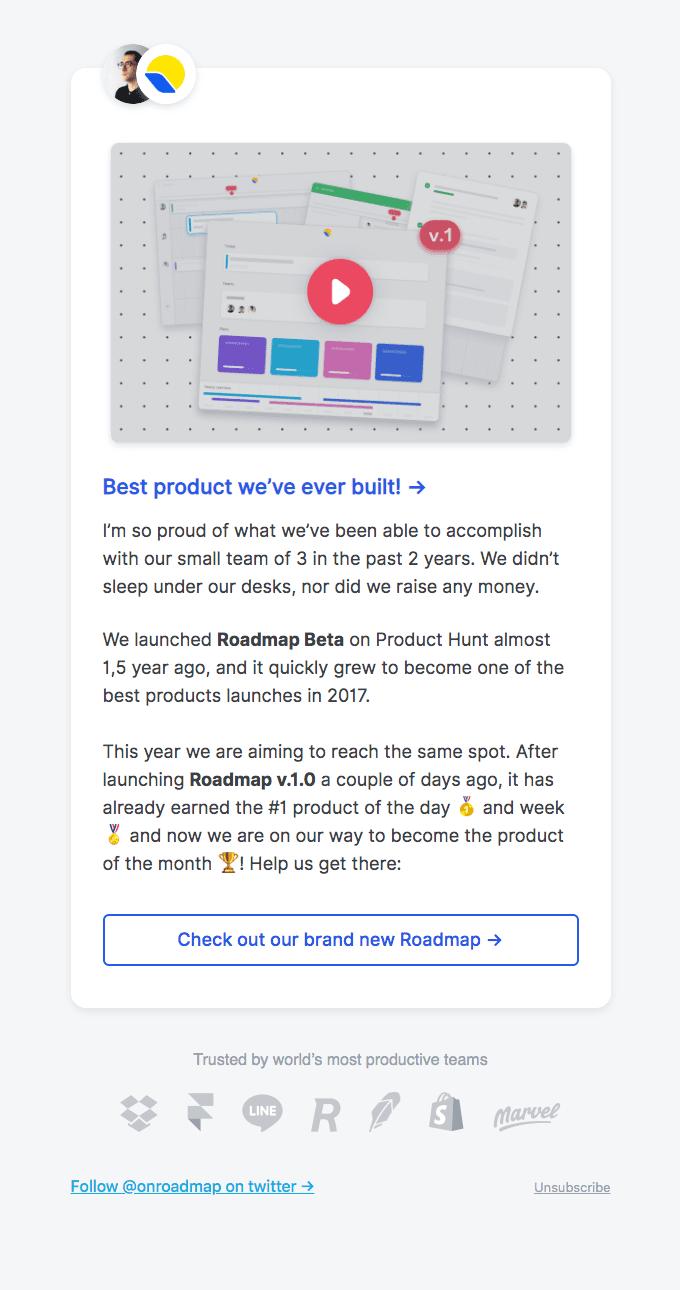 Proud of Roadmap v.1.0 ❤️️