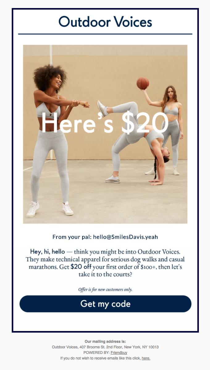 Smiles Davis sent you $20