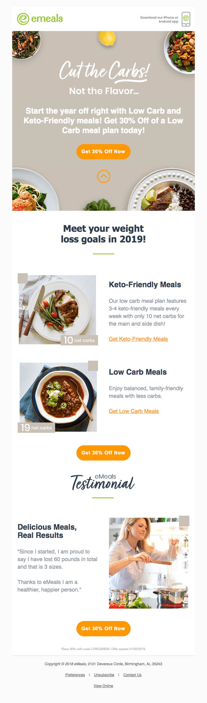 Tasty, Keto-Friendly and Low Carb Meals!