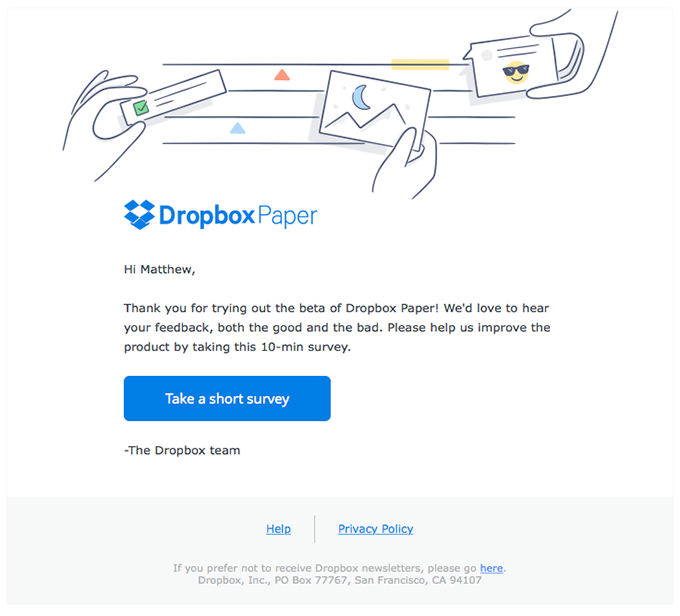 Tell us what you think of Dropbox Paper (now in beta)