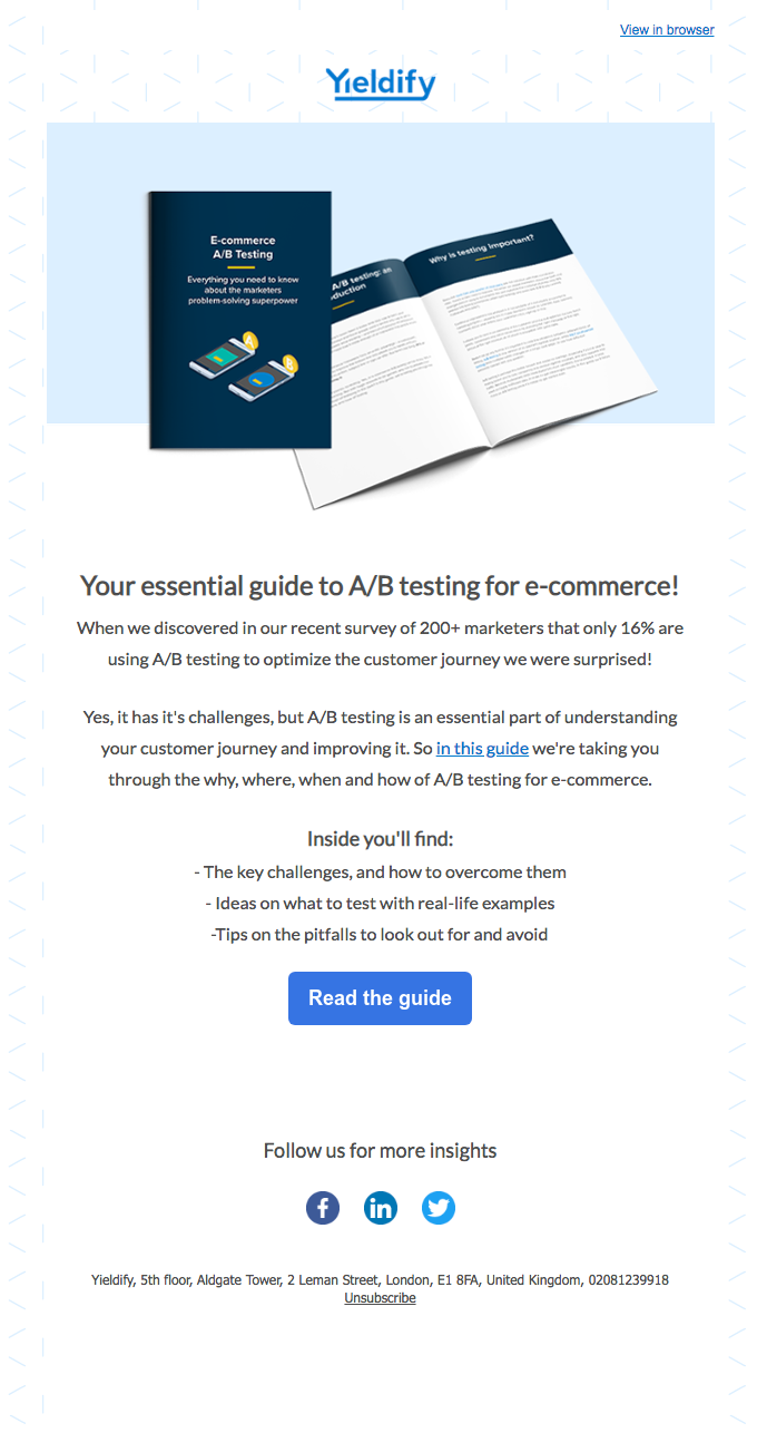 Testing, testing: your essential guide to A/B testing for e-commerce