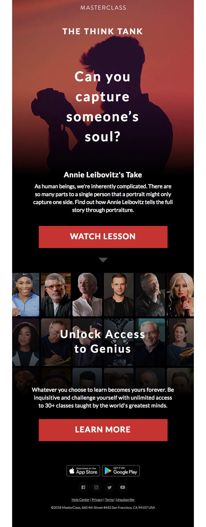 The Think Tank: Annie Leibovitz on capturing someone's soul