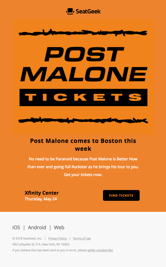 Tour Alert: Post Malone
