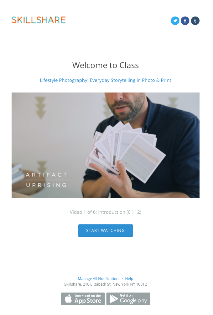 Welcome to Class: Lifestyle Photography: Everyday Storytelling in Photo