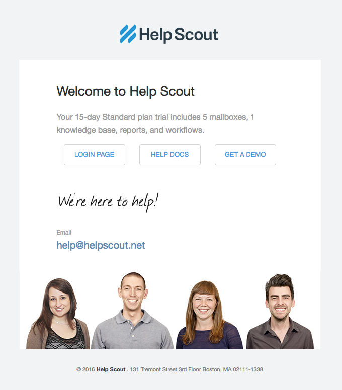 Welcome to Help Scout